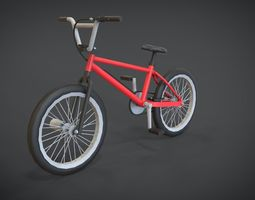 3D model BMX Bicycle