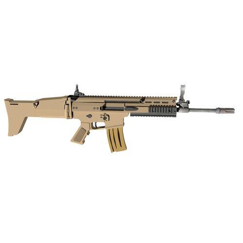 rifle 3d model obj mtl 3ds fbx ma mb 1