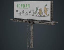 Billboard 1B 3D model