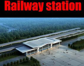 Railway station 3D vosstaniya