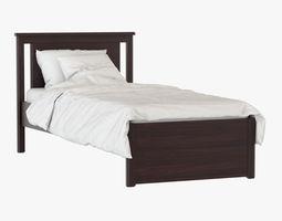 3D model Bed Songesand IKEA
