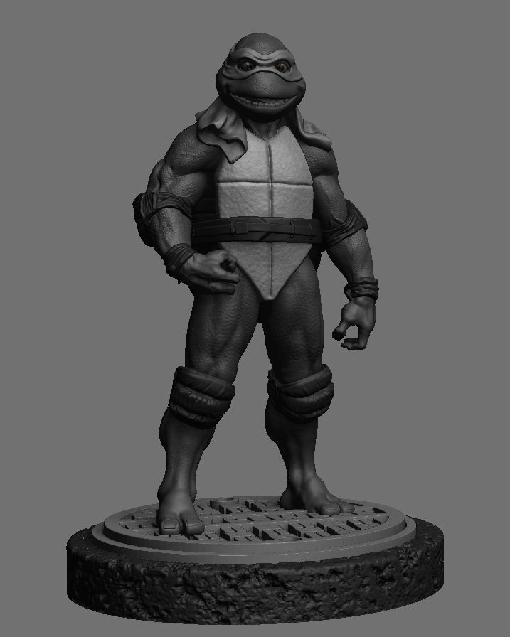 Michelangelo 6th scale TMNT