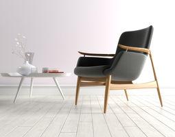 NV 53 Easy armchair by Finn Juhl 3D model