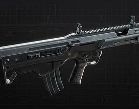 3D model MSBS 556B Assault Rifle