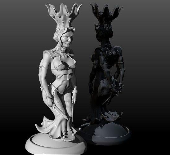 chess 3d model stl 1