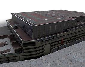 Nice Palais Sports 3D asset