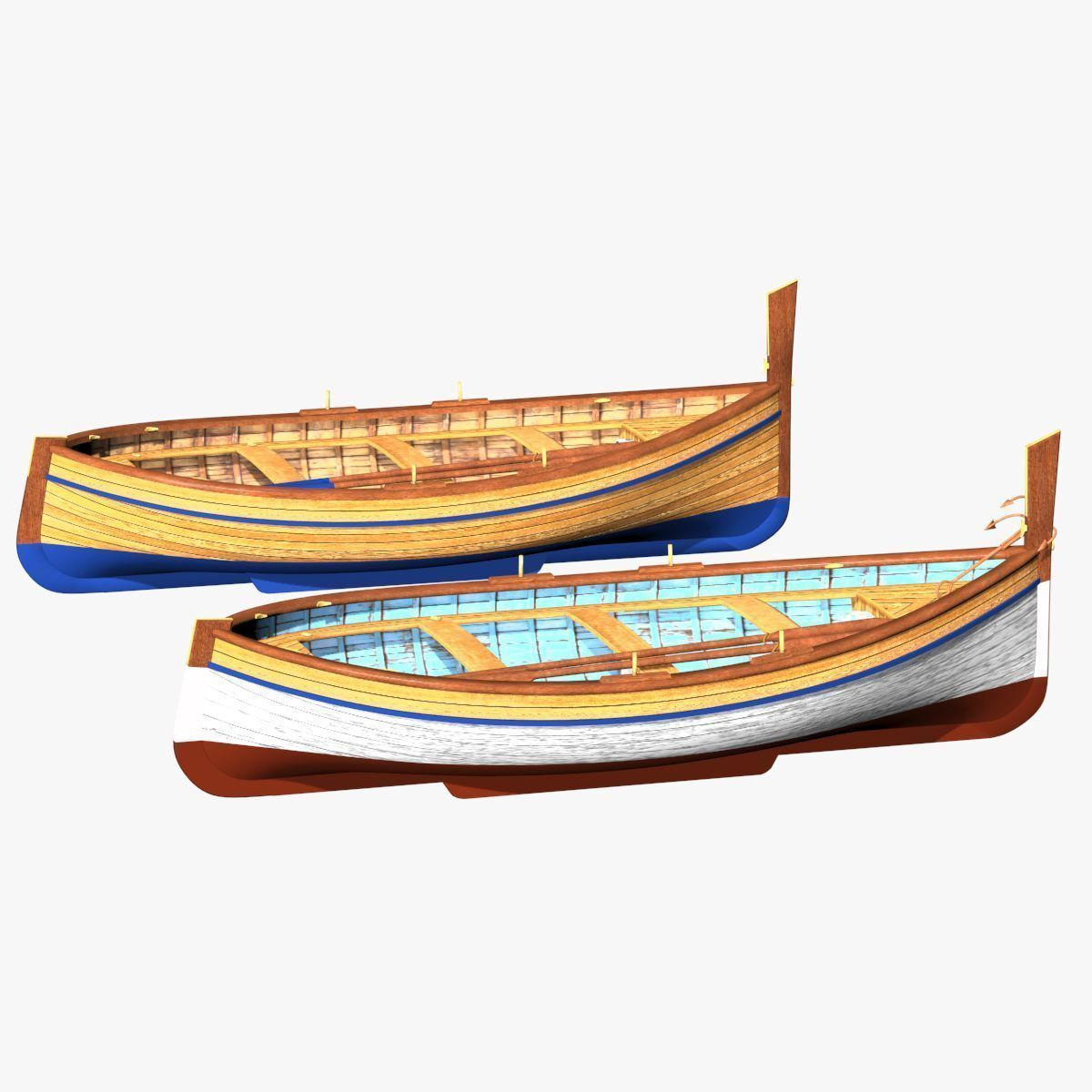 Fishing Rowing Boat - Spanish