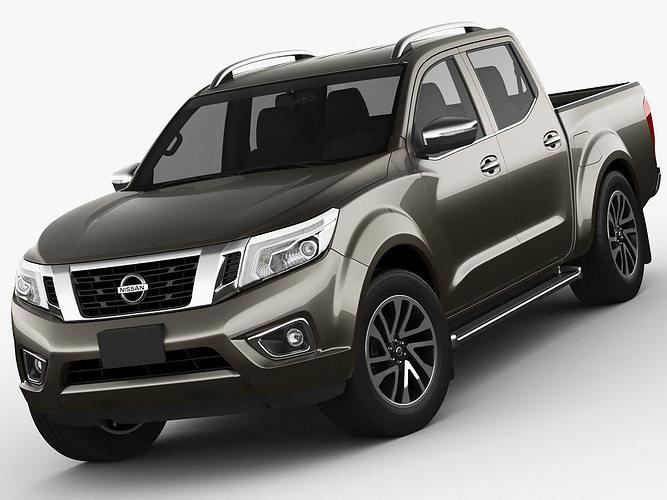 Nissan Navara - NP300 - Frontier 3D | CGTrader