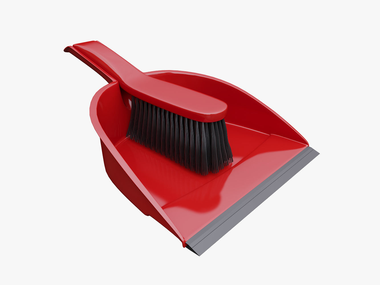Broom Dustpan Set | 3D model