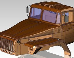 3D Cab Ural