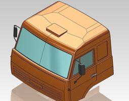 Cabin Kamaz 3D