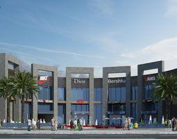 model Shopping Mall 3D