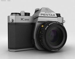 Pentax K1000 3D