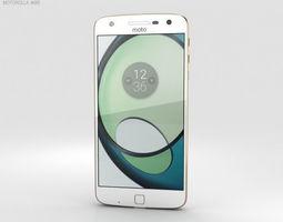 Motorola Moto Z Play White 3D model cell