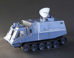 3D print model SHADO Mobile Control Vehicle from tv series