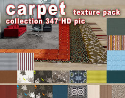 3D model carpet texture pack - collection 347 HD pic