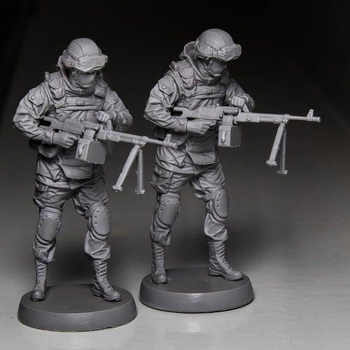 soldier 3d model max obj mtl stl ztl 1