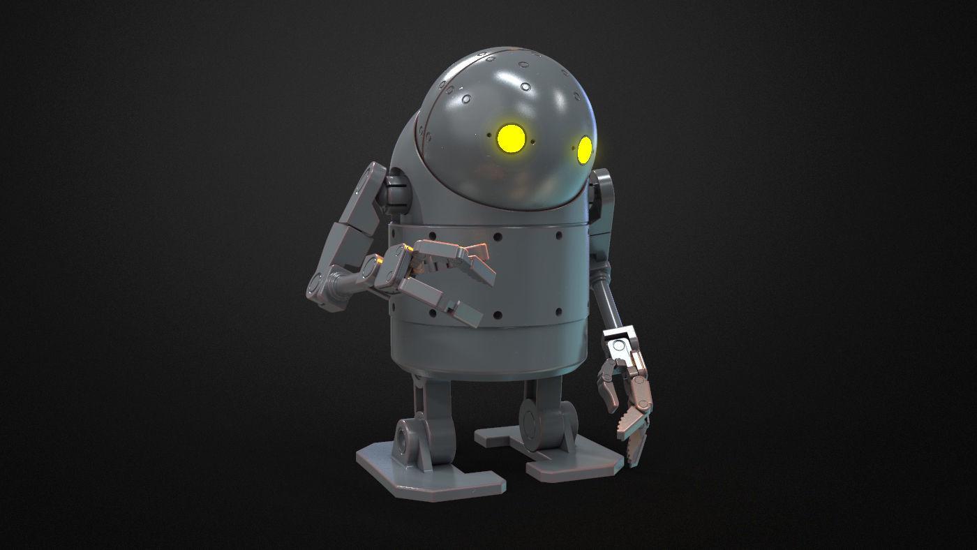 Nier Automata - Small stubby Robot Toy
