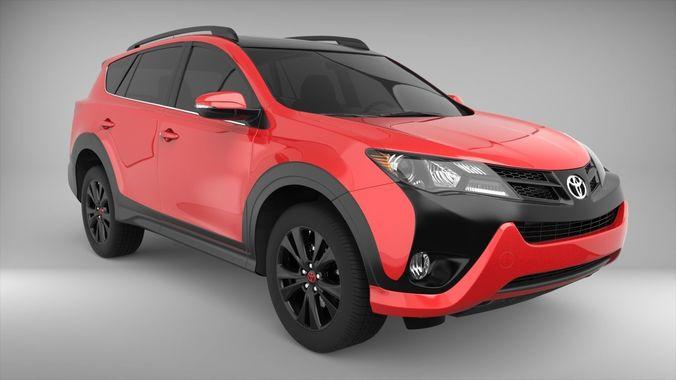 Toyota Rav4 2016 Model Max Obj Mtl S
