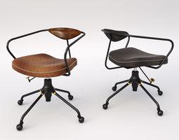 3D Akron Desk Chair
