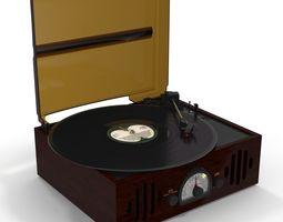 vray 3D Vinyl Player