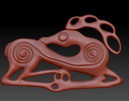 Scythian Stag 3D printable model