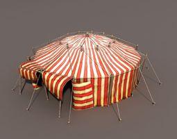Circus Tent 3D asset