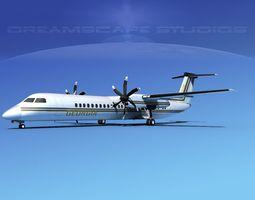 3D model Dehaviland DHC-8 400 Georgia Air
