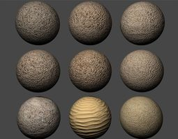 3D model Ground Sand Texture Pack