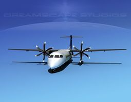 3D Dehaviland DHC-8 400 Orion Air Express