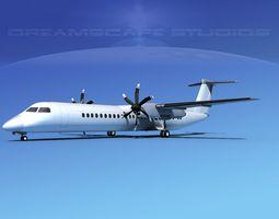 3D Dehaviland DHC-8 400 Valley Express