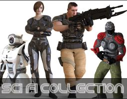 3D Sci Fi Collection