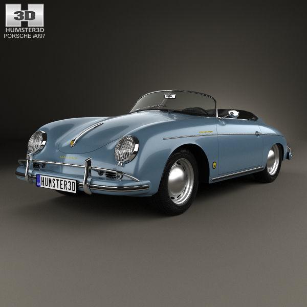 Porsche 356A 1600 Super Speedster 1955