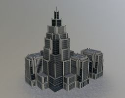 Moscow Office Building1 3D model