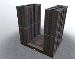 Moscow House Building19 3D model