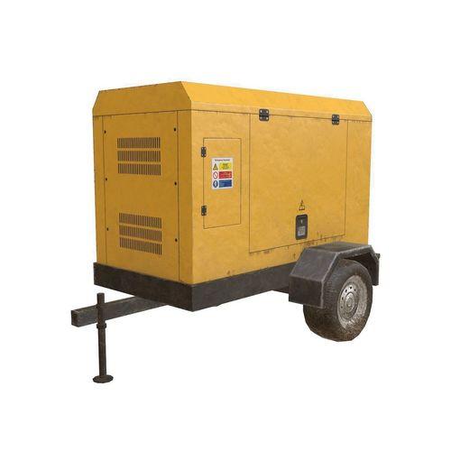electric generator 3d model low-poly max obj mtl 3ds fbx 1