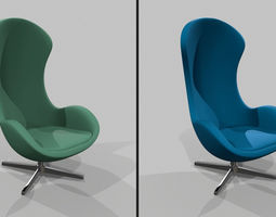 Chair Pack 2in1 3D model