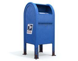 3D model US Mailbox