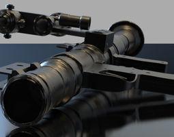 RPG Rocket Launcher 3D