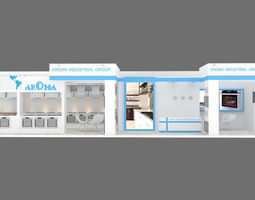 3D exhibition stand 6