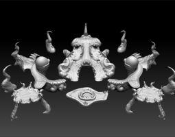 Lurking Below Bundle 1 - The Lurkers 3D printable model 1