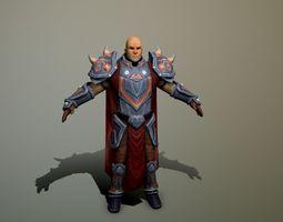 Darius 3D asset game-ready