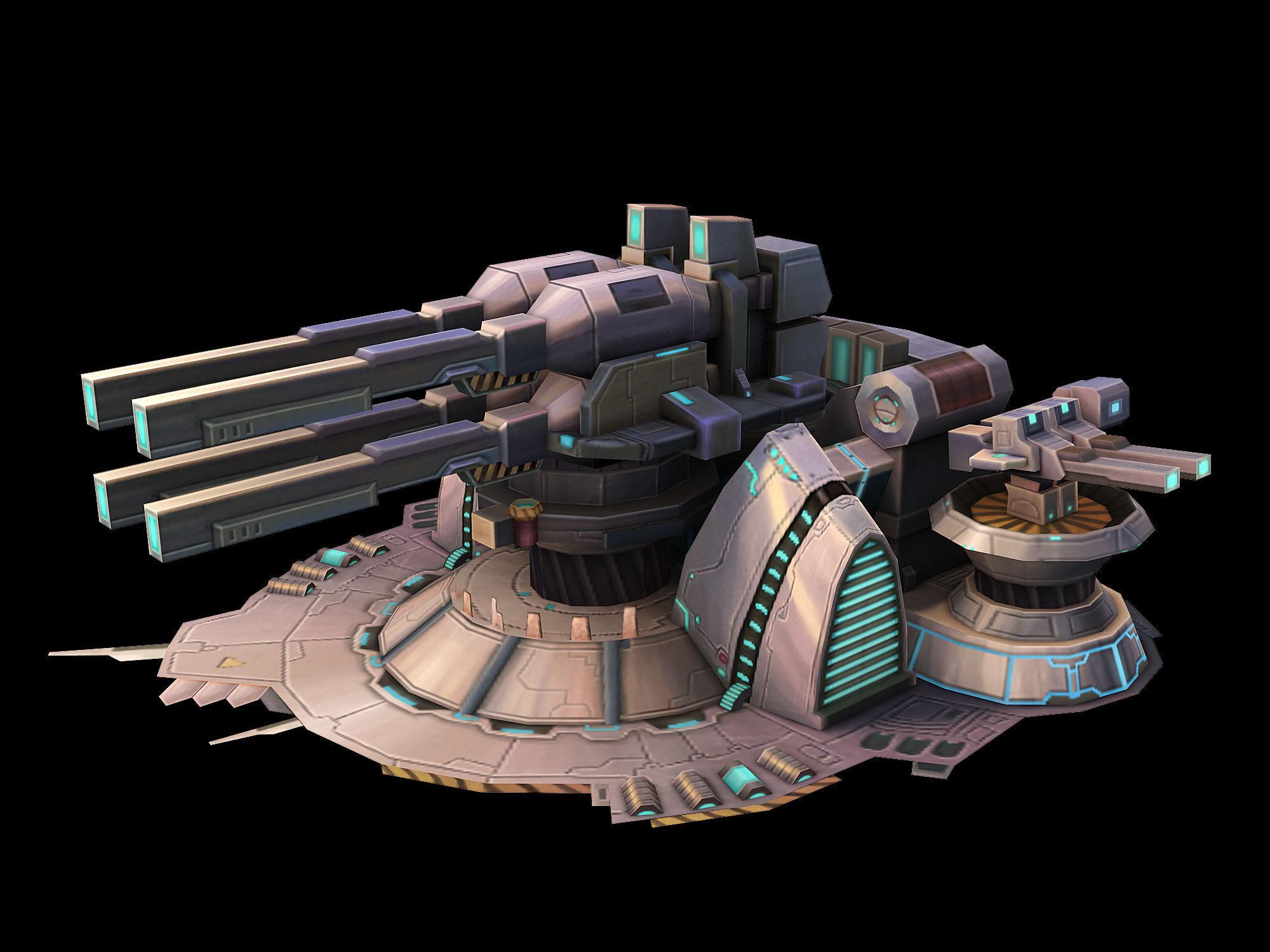 Machinery - Turret 03