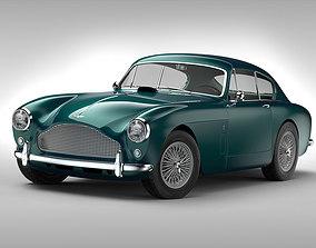 Aston Martin DB MKIII 1957 - 1959 3D model