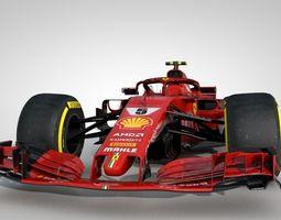F1 SF71H 2018 3D model