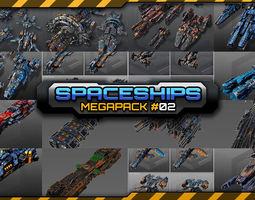 3D Spaceships Megapack 02