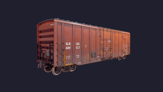 BoxCar LowPoly