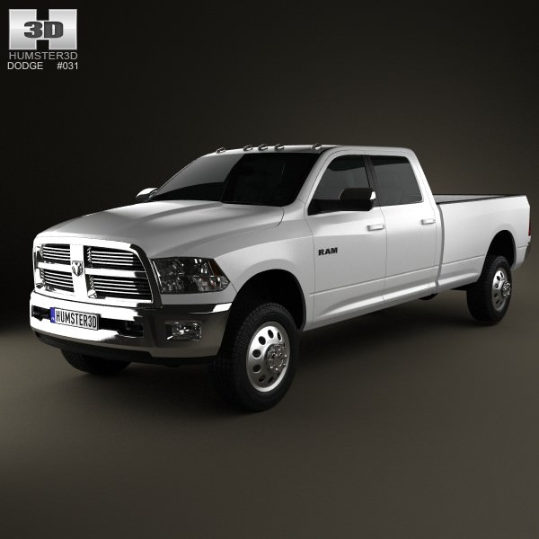 Dodge Ram 2500 Crew Cab Big Horn 8