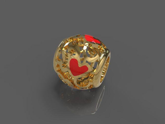 heart 3d model stl 1