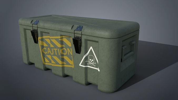 military box 3d model obj mtl fbx 1